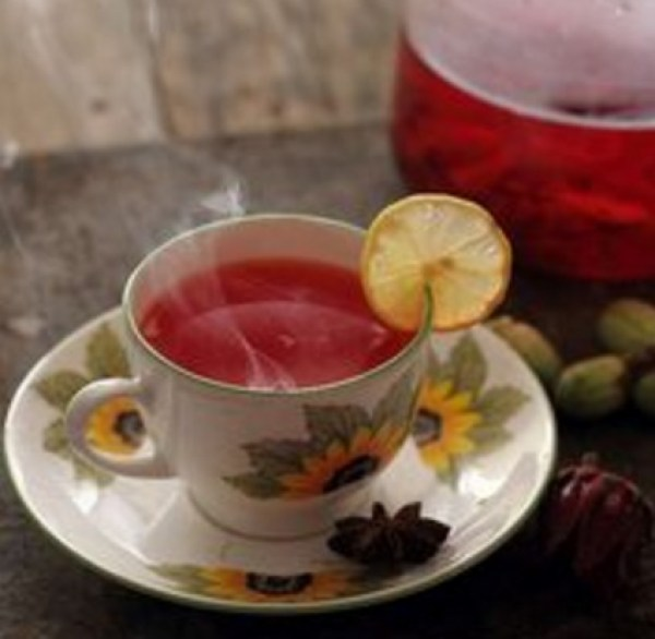 Homemade Hibiscus Tea