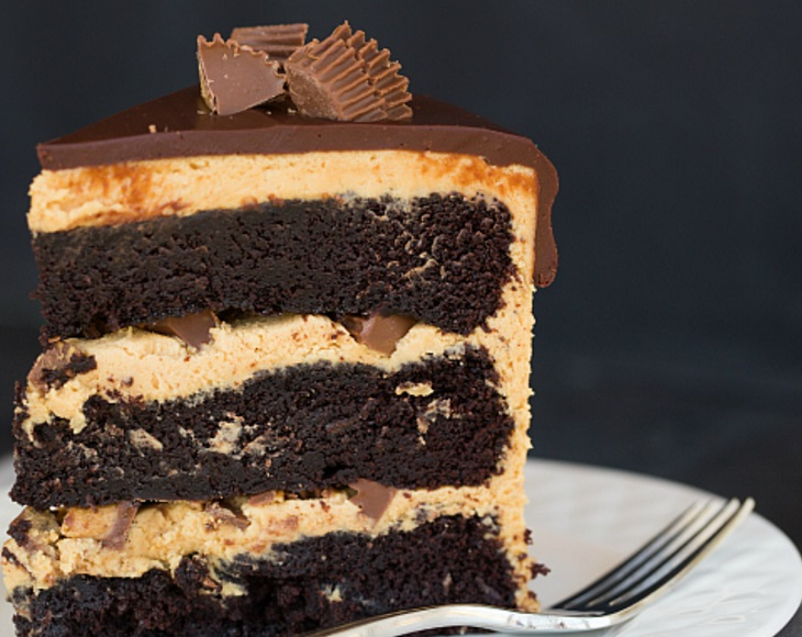 Peanut Butter Cup Chocolate Cake