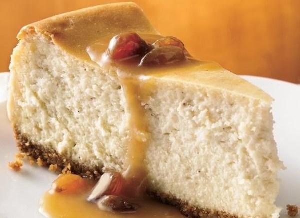 Hot Buttered Rum Cheesecake