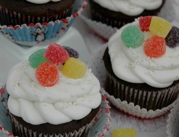 Gumdrop Cupcakes