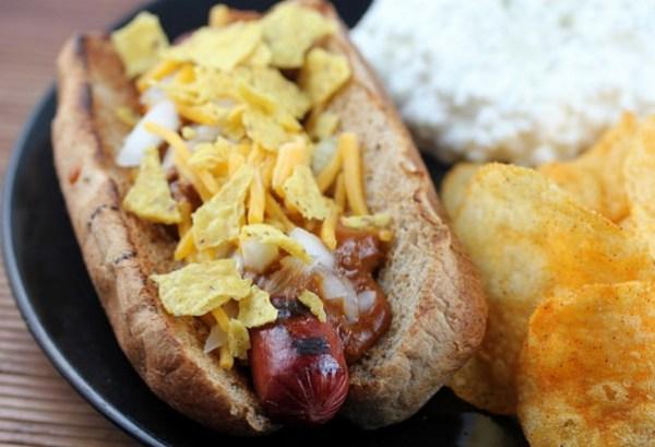 Chili Corn Chip Hot Dog