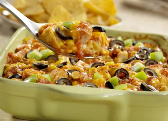 Chicken & Corn Chip Casserole