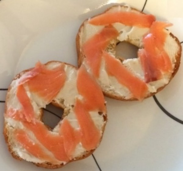 Healthy Bagel and Lox