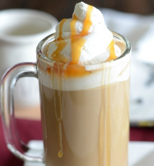 Toffee Butterbeer Latte