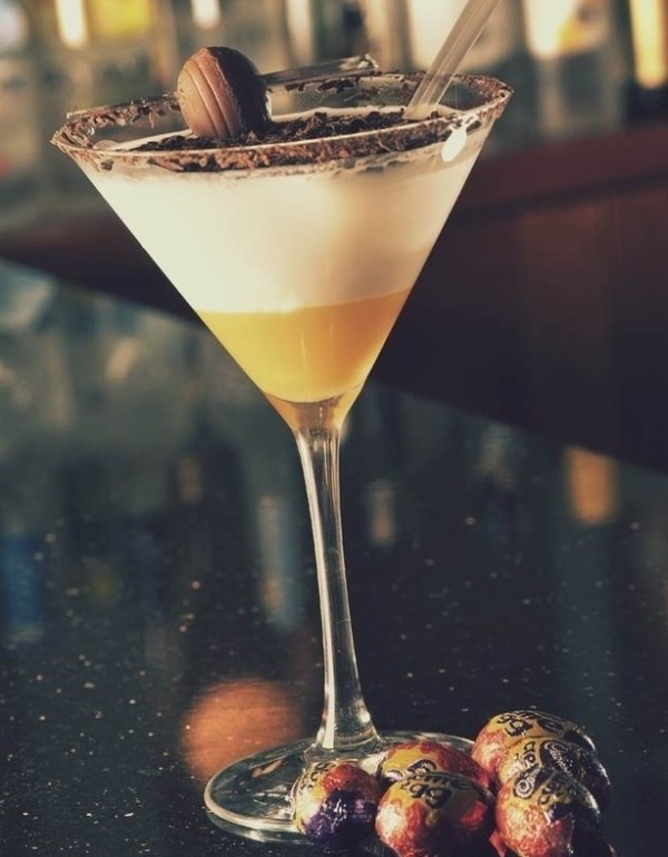 Cadbury's Creme Egg Cocktail