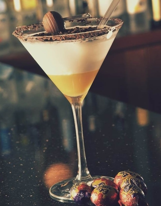Cadbury's Creme Egg Cocktail