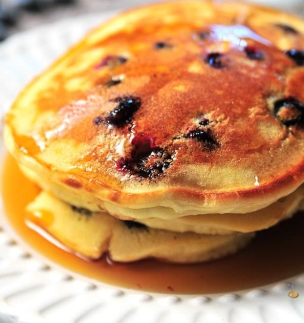 Lemon & Blueberry Pancakes