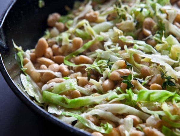 White Beans and Cabbage