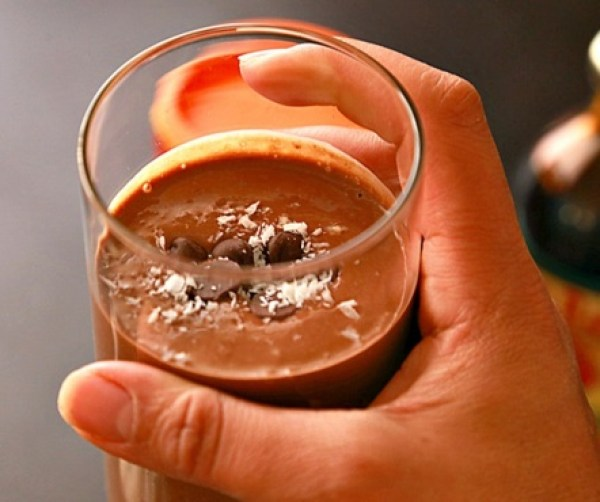 Healthy Chestnut Chocolate Smoothie