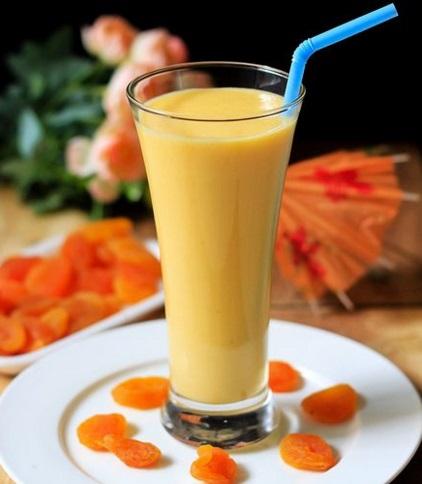 Dried Apricot Milkshake