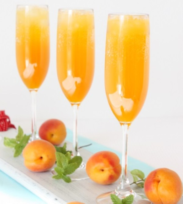 Apricot Bellini