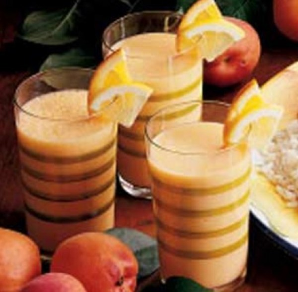 Frothy Apricot