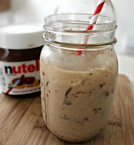 Nutella Mudslide Cocktail