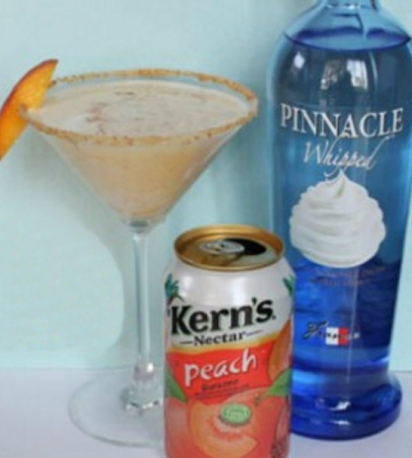 Peach Pie Martini