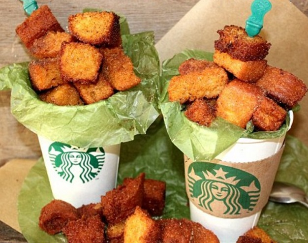 Deep-Fried Pumpkin Spice Latte