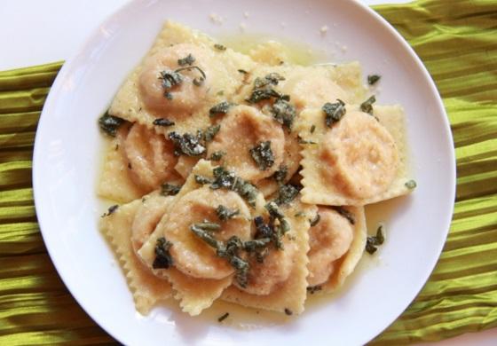 Gorgonzola Butternut Squash Ravioli