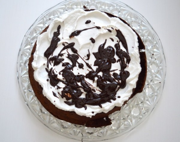 Dark Chocolate Coconut Torte