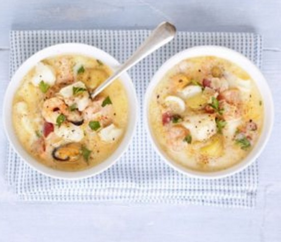 Seafood Chowder Soup