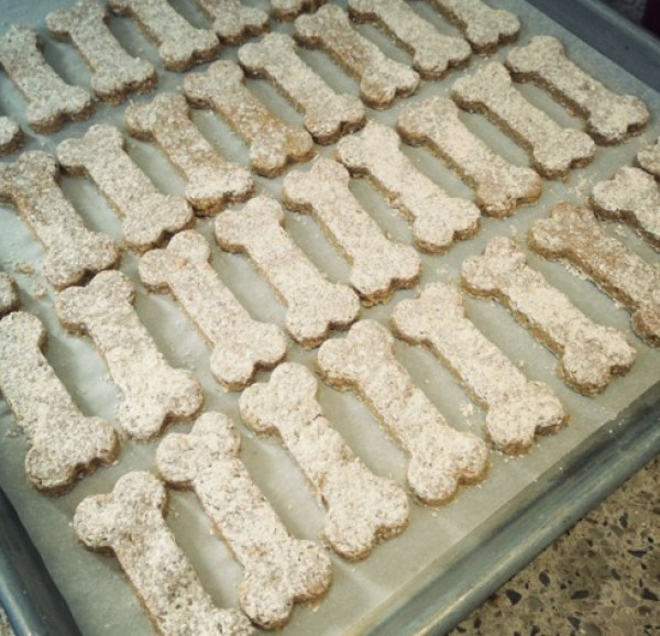 Sweet Potato & Peanut Butter Dog Biscuits