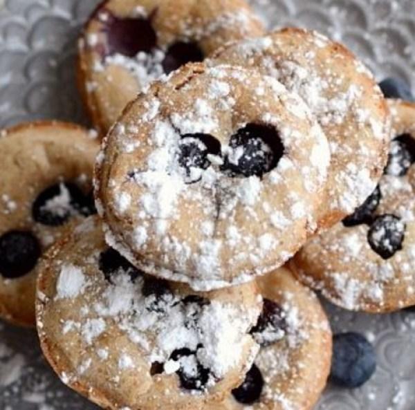 Lemon & Blueberry Popover Pancakes
