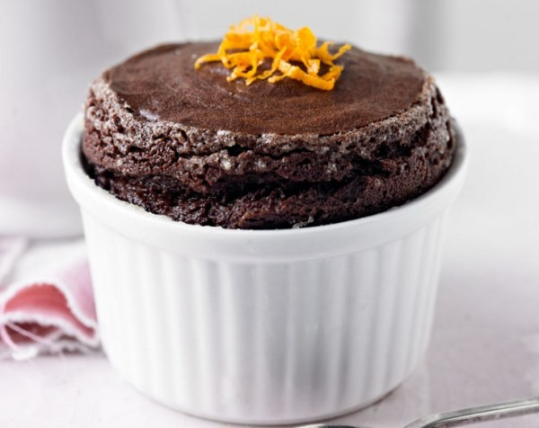 Chocolate Orange Soufflés