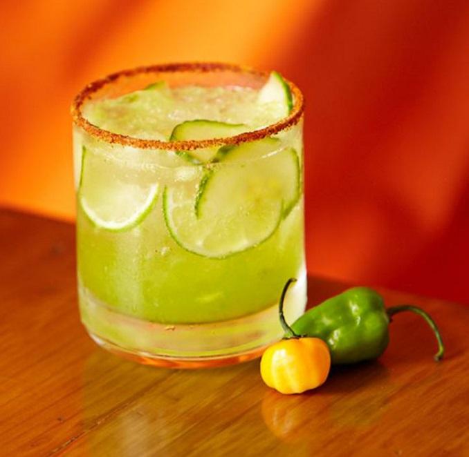 Cucumber Chili Margarita