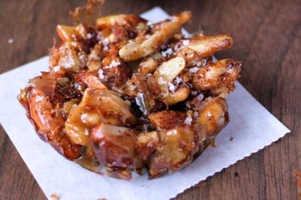 Salted Caramel & Maple Peanut Clusters