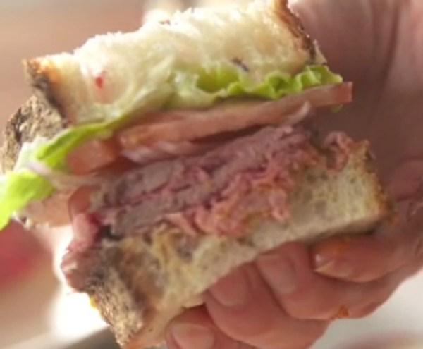 Worlds Best Roast Beef Sandwich