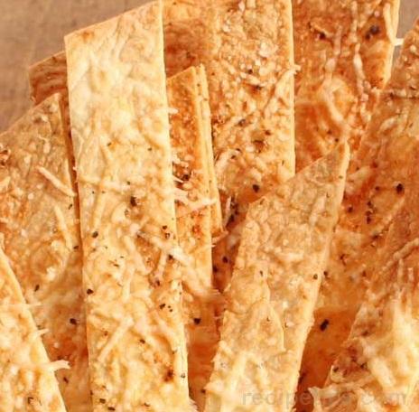 Flour & Parmesan Tortilla Crisps