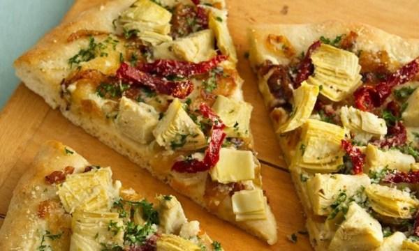 Artichoke Heart Pizza