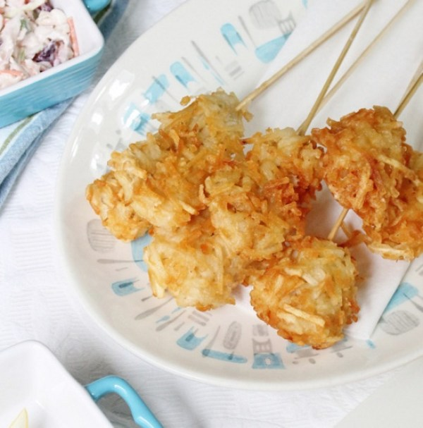 Fish & Chips on a Stick