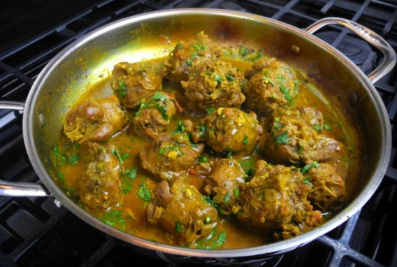 Turkey Neck Curry