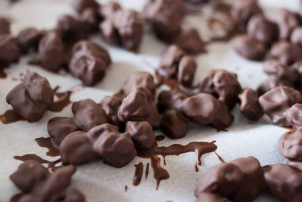 Homemade Chocolate Covered Raisins