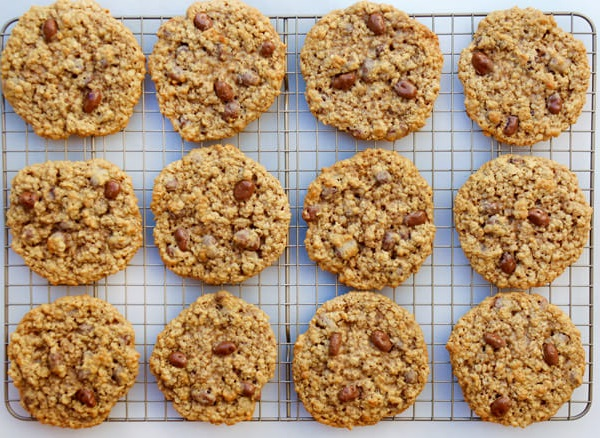 Chocolate Covered Raisin Cookies