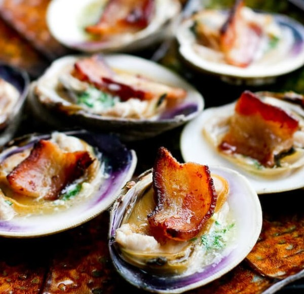Bacon Clams On The Halfshell