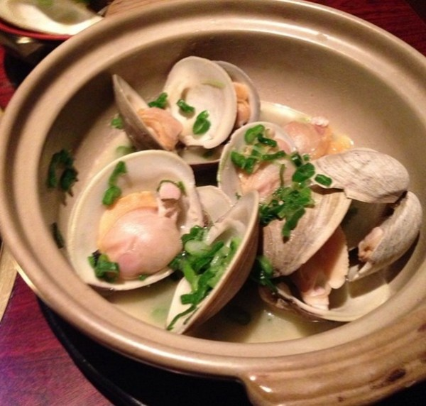 Buttered Clams On The Halfshell