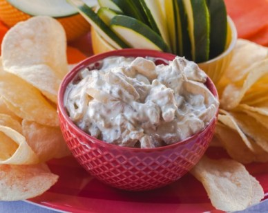 French Onion Tortilla Chip Dip