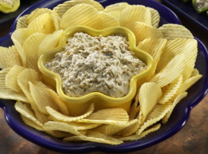 Smoked Clam Tortilla Chip Dip