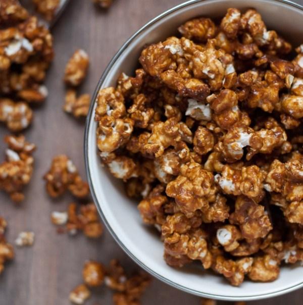 Vanilla & Honey Salted Caramel Popcorn