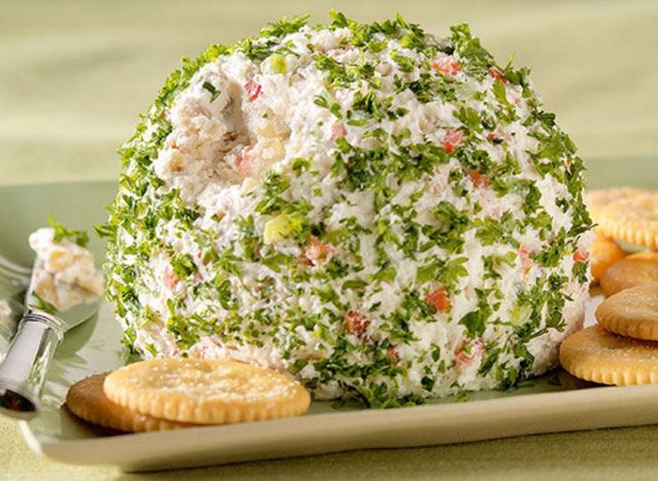 Holiday Feta Cheese Ball