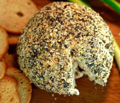 Bagel Cheese Ball