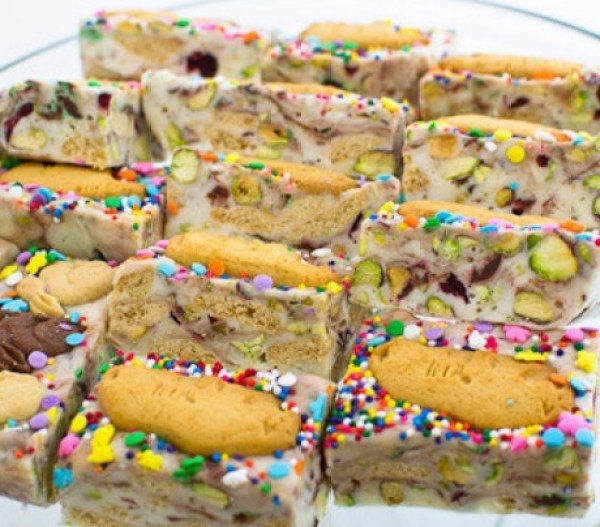 Animal Cracker Fudge