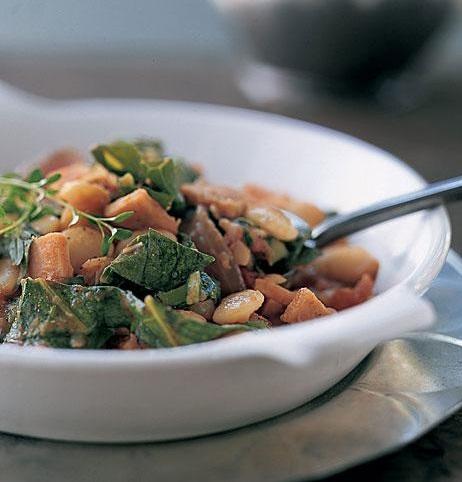 Lima Beans and Smoked Turkey