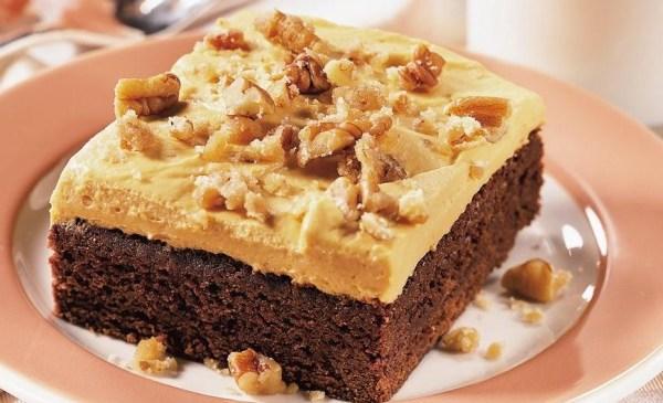 Brownie-Pecan Dessert Squares