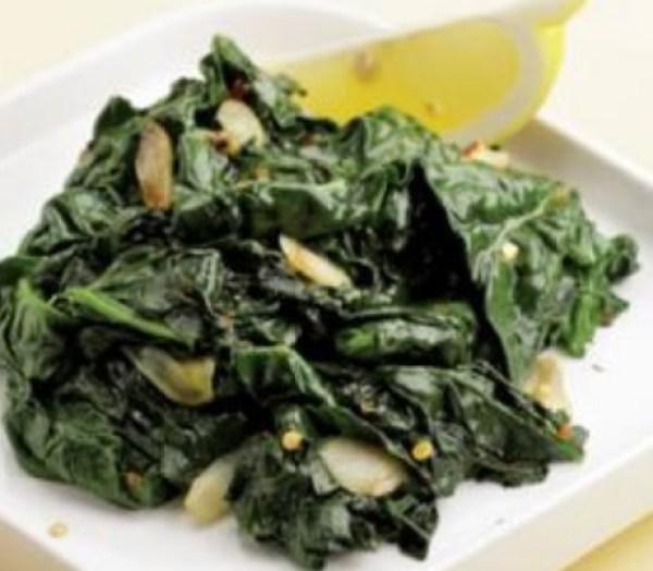 Simple Sautéed Spinach