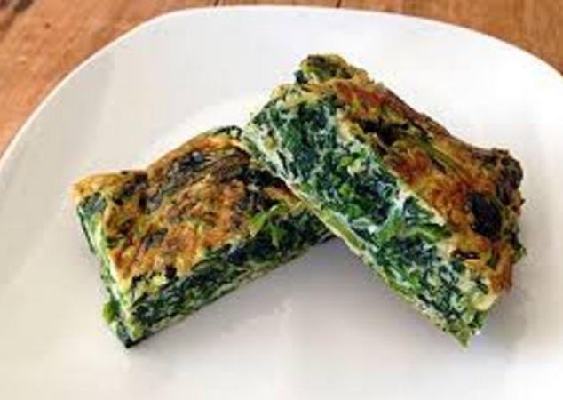 Spinach Tamagoyaki