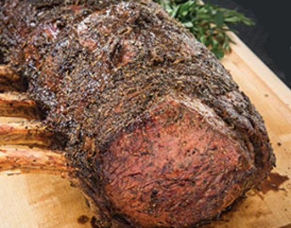 Pepper and Herb Prime Rib