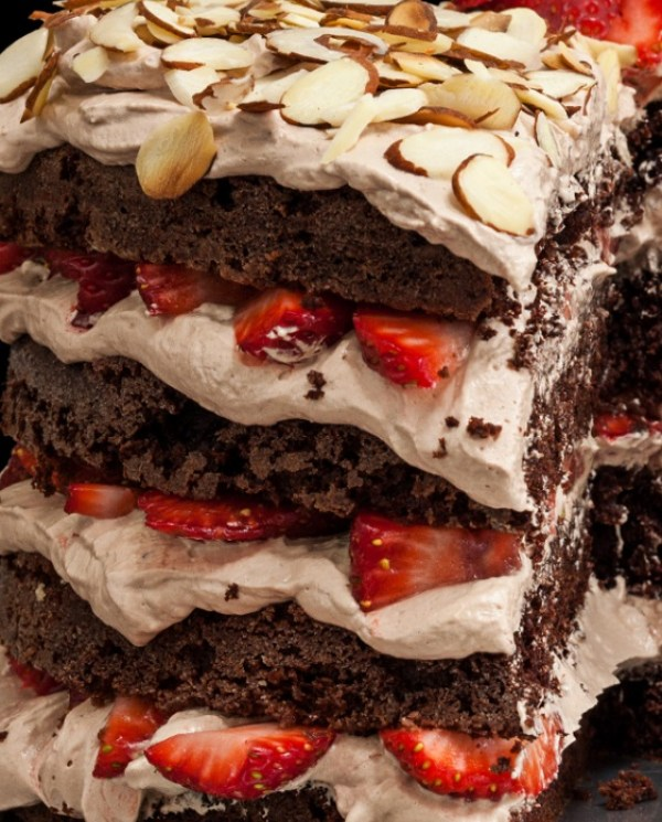 Mexican Devil's Food Cake