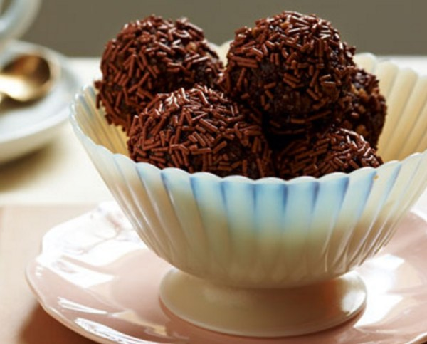 Biscuit Chocolate Truffles