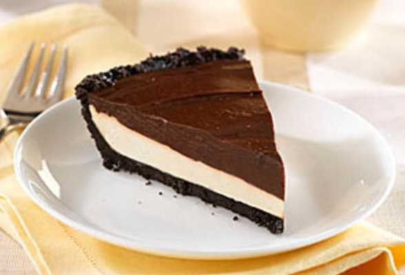 Chocolate-Caramel Creme Pie